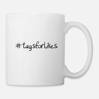 Party #tagsforlikes Hashtag Trend Cool Popular - Coffee/Tea Mug