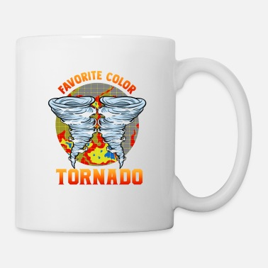 Chase Cute Red Is My Favorite Color Tornado Chaser - Mug