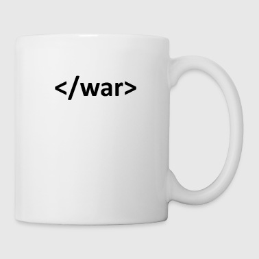 Web developer - Stop war - Coffee/Tea Mug