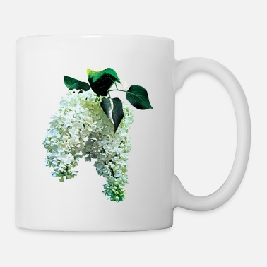 Lilac White Lilacs - Coffee/Tea Mug