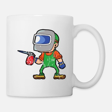 Iron Metal Retro Vintage Grunge Style Welder - Coffee/Tea Mug
