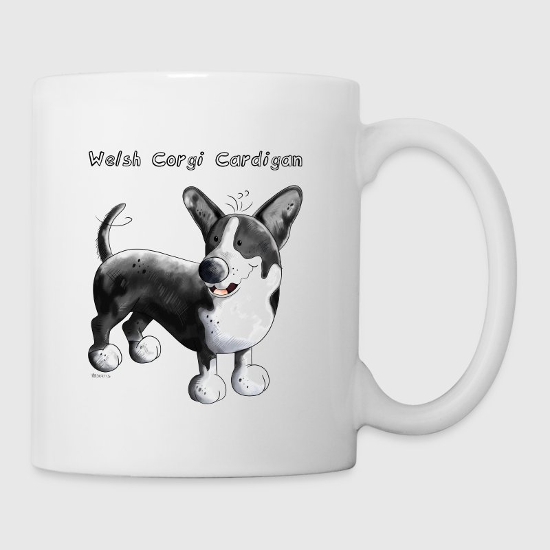 Black Welsh Corgi Cardigan - Dog - Dogs - Gift - Coffee/Tea Mug