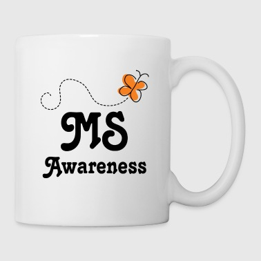 Multiple Sclerosis MS Awareness Butterfly - Coffee/Tea Mug
