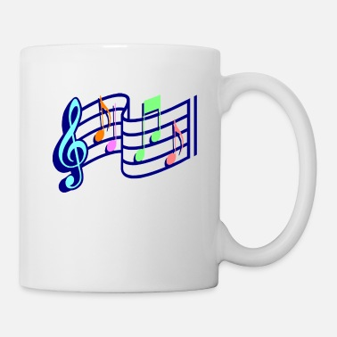 Chart Music Musical Notes - Mug