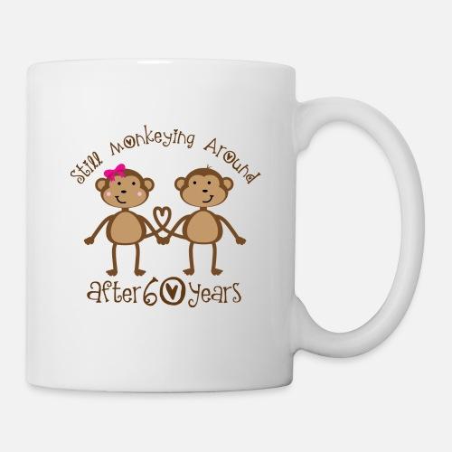 MugFunny 60th Wedding Anniversary Gift For Couples