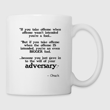 Offense Taking Offense - Coffee/Tea Mug