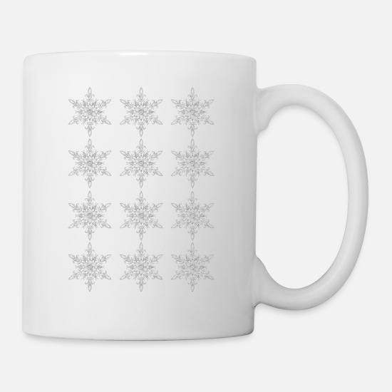 Christmas Carols Mugs & Drinkware - Merry Christmas - Mug white