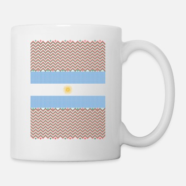 Ugly-christmas-sweater Argentinean Ugly Christmas Sweater - Coffee/Tea Mug