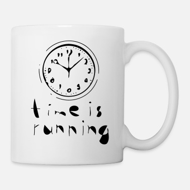 time is running - choose your own color! - Coffee/Tea Mug