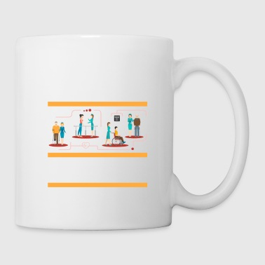 Physics Physical Therapist physically School Survivor - Coffee/Tea Mug