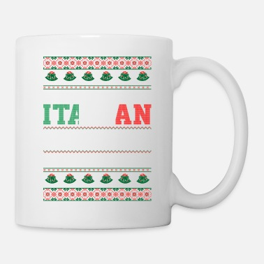 Italian I Survived The Italian Family Ugly Christmas Tshir - Mug