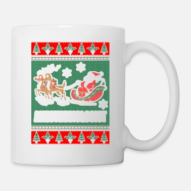 Anesthesiologist Funny Anesthesiologist Ugly Christmas Sweater - Mug