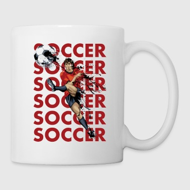 Soccer Soccer Soccer - Coffee/Tea Mug