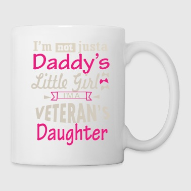 Respect Daddy s LIttle Girl Veteran s Daughter - Coffee/Tea Mug