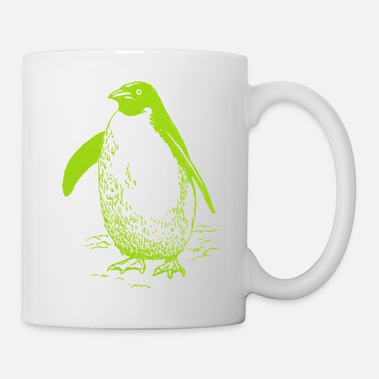 Design Mugs & Drinkware - Penguin Design - Mug white