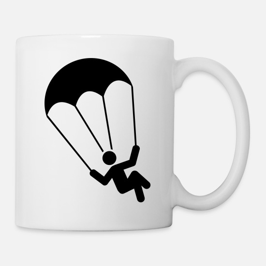 Play Mugs & Drinkware - parachuting - Mug white