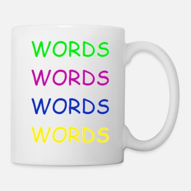 Word Words Words Words - Mug