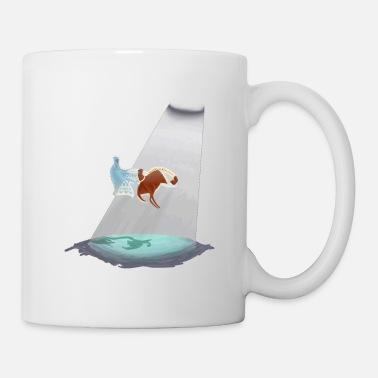 Red Sailed Boat Journey - Mug