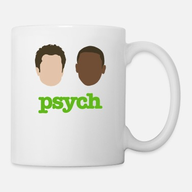 Psyche Faces of Psych - Mug