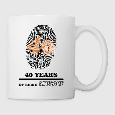 40 Years 40 Years - Coffee/Tea Mug