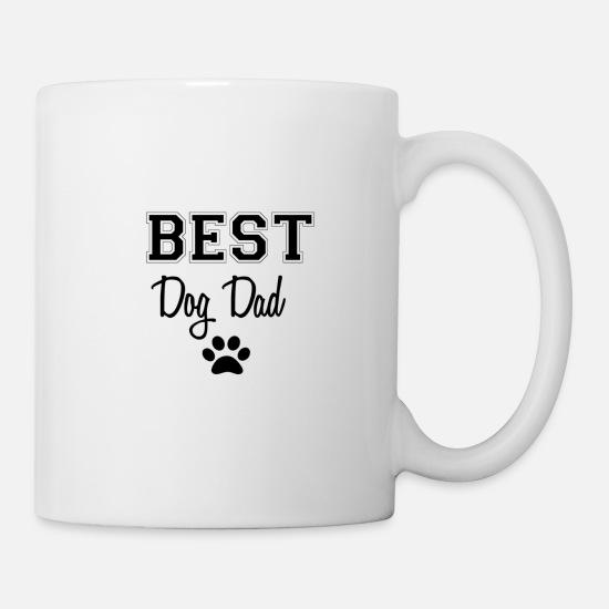 115b0f23598 Dad Mugs & Drinkware - Best Dog Dad - Mug white