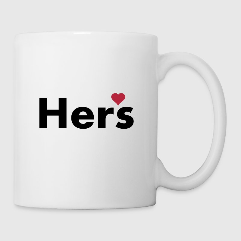 Hers - part of his and hers set - Coffee/Tea Mug