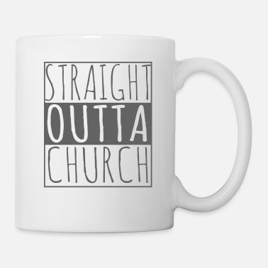 Production Year Funny Christian product - Straight Outta - Gifts - Mug