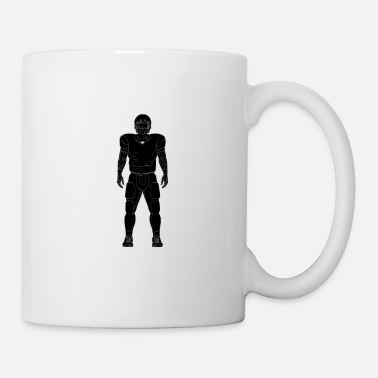 Suit Player American Football Design - Coffee/Tea Mug