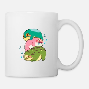 Lurch Toad Frog Lurch lazy tired sleep gift - Mug