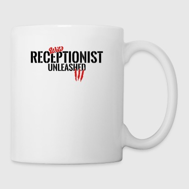 Wild receptionist unleashed - Coffee/Tea Mug