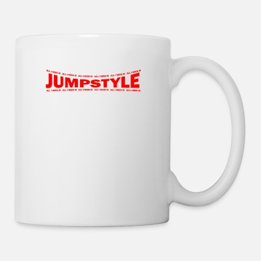 Jumpstyle LOVE TECHNO GESCHENK goa pbm JUMPSTYLE speed - Coffee/Tea Mug