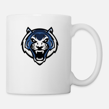 Blue Tiger logo - Mug