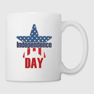 Independence day 4th july USA - Coffee/Tea Mug