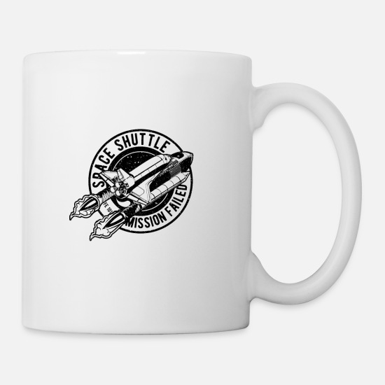 Space Ship Mugs & Drinkware - Space Shuttle Mission - Mug white