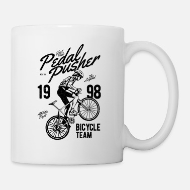 Pedal Pedal Pusher - Coffee/Tea Mug