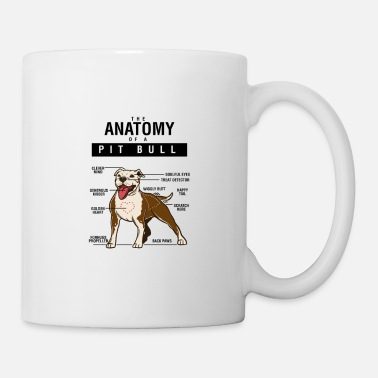 Nerdsbyleo Funny Pitbull Dog Shirt - Mug