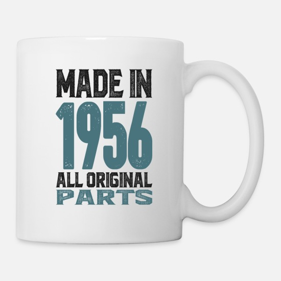 Birthday Mugs & Drinkware - 19 made 1956 2 - Mug white