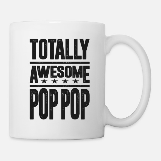 Father's Day Mugs & Drinkware - Gift for Pop Pop - Mug white