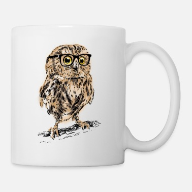 Nice AD owl - Coffee/Tea Mug