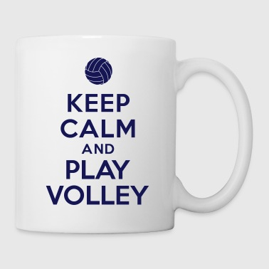 Keep calm and play Volley - Coffee/Tea Mug