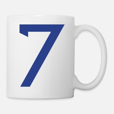 Player Number ★Cool Number Seven 7-Best Uniform Number-7★ - Mug
