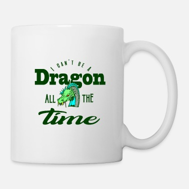 Dragon Head Gift Green Earth Dragon Saying Dragon Head Shirt - Coffee/Tea Mug