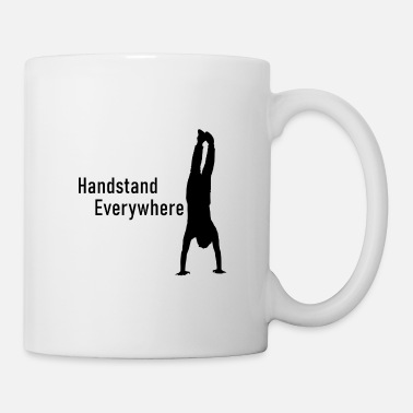 Handstand Everywhere Calisthenics Shirt - Coffee/Tea Mug