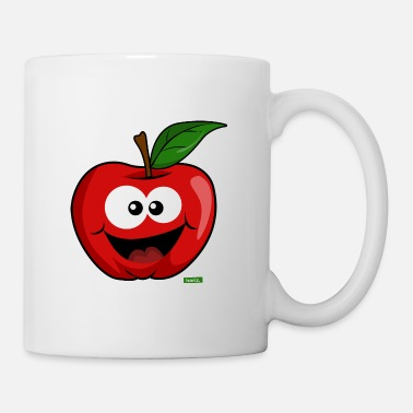 Farmer Apple Laughing HARIZ Fruits Children Sweet - Mug