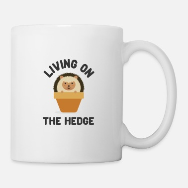 Animals Hedgehog. Hedge. Cute. Animals. Fun. - Mug