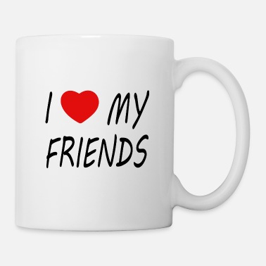 Friendship I love my Friends - Mug