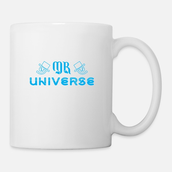 Women Mugs & Drinkware - Mr Universe - Mug white