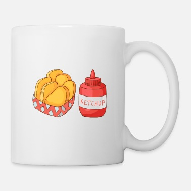Restaurant French Fries Ketchup - Coffee/Tea Mug