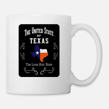 Texas The United State of Texas - Mug