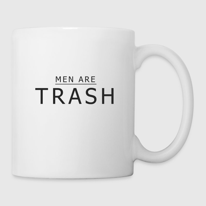 MEN ARE TRASH - Coffee/Tea Mug